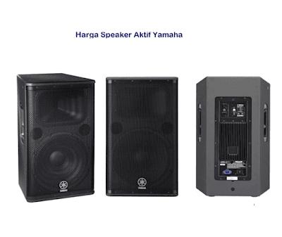 harga Speaker Yamaha 15 inchi Aktif