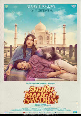 Shubh Mangal Savdhan 2017 Pre DVDRip 300MB Full Hindi Movie Download Watch Online Free bolly4u