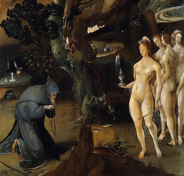 Jan Wellens de Cock - Le tentazioni di Sant'Antonio