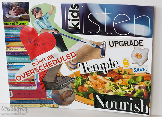 Vision boards are a fun way to help kids set goals for the new year! What kid doesn't love an art project?