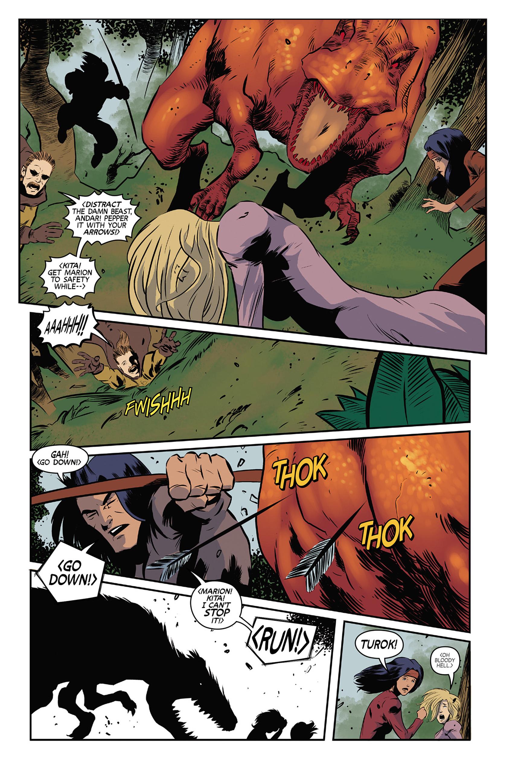 Read online Turok: Dinosaur Hunter (2014) comic -  Issue #9 - 5