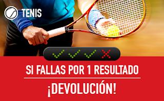 sportium Tenis: Combinada 'con seguro' 20-26 agosto