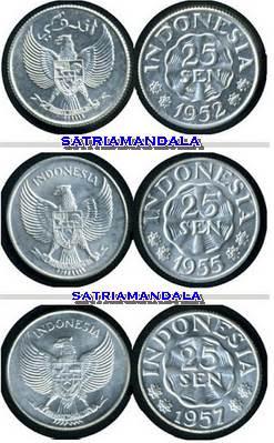 1952, 1955 dan 1957