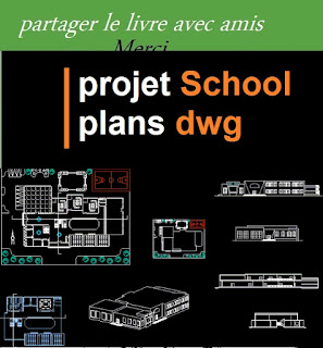 projet School plans dwg  plan of school building dwg  plan elevation and section of school building  architecture school plan dwg  school floor plans dwg  primary school dwg file  college design dwg  modern school plan  primary school plan dwg