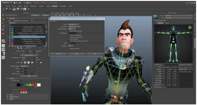 Aplikasi Animasi AutoDesk Maya