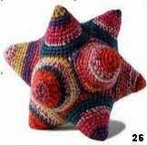 patron gratis estrella amigurumi, free amigurumi pattern star
