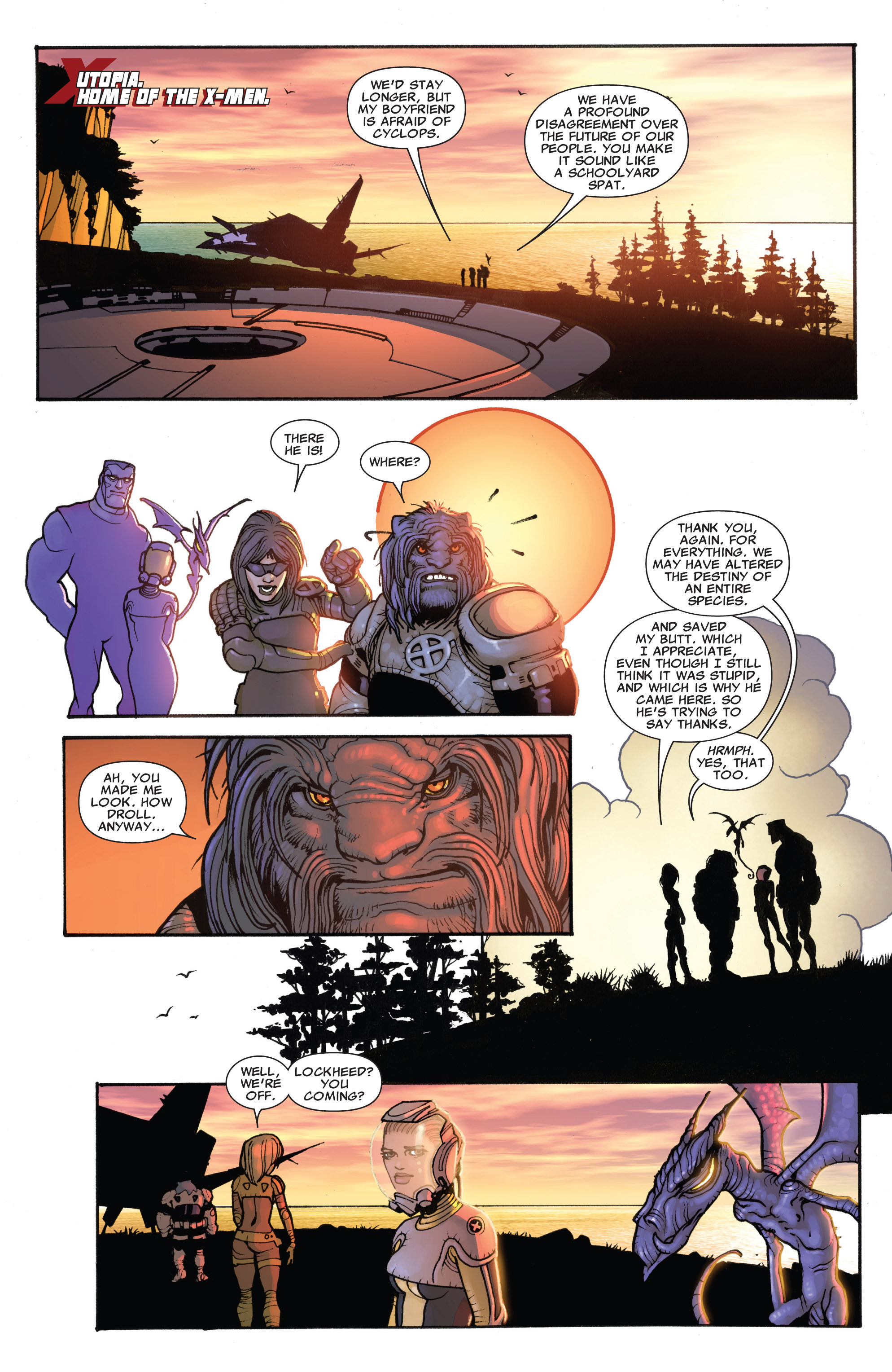 Read online Astonishing X-Men (2004) comic -  Issue #42 - 21