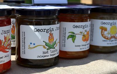 Georgia Jams at the Green Market