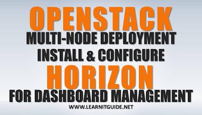 Install Openstack Horizon Dashboard - Openstack Tutorial