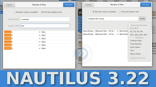 Nautilus 3.22