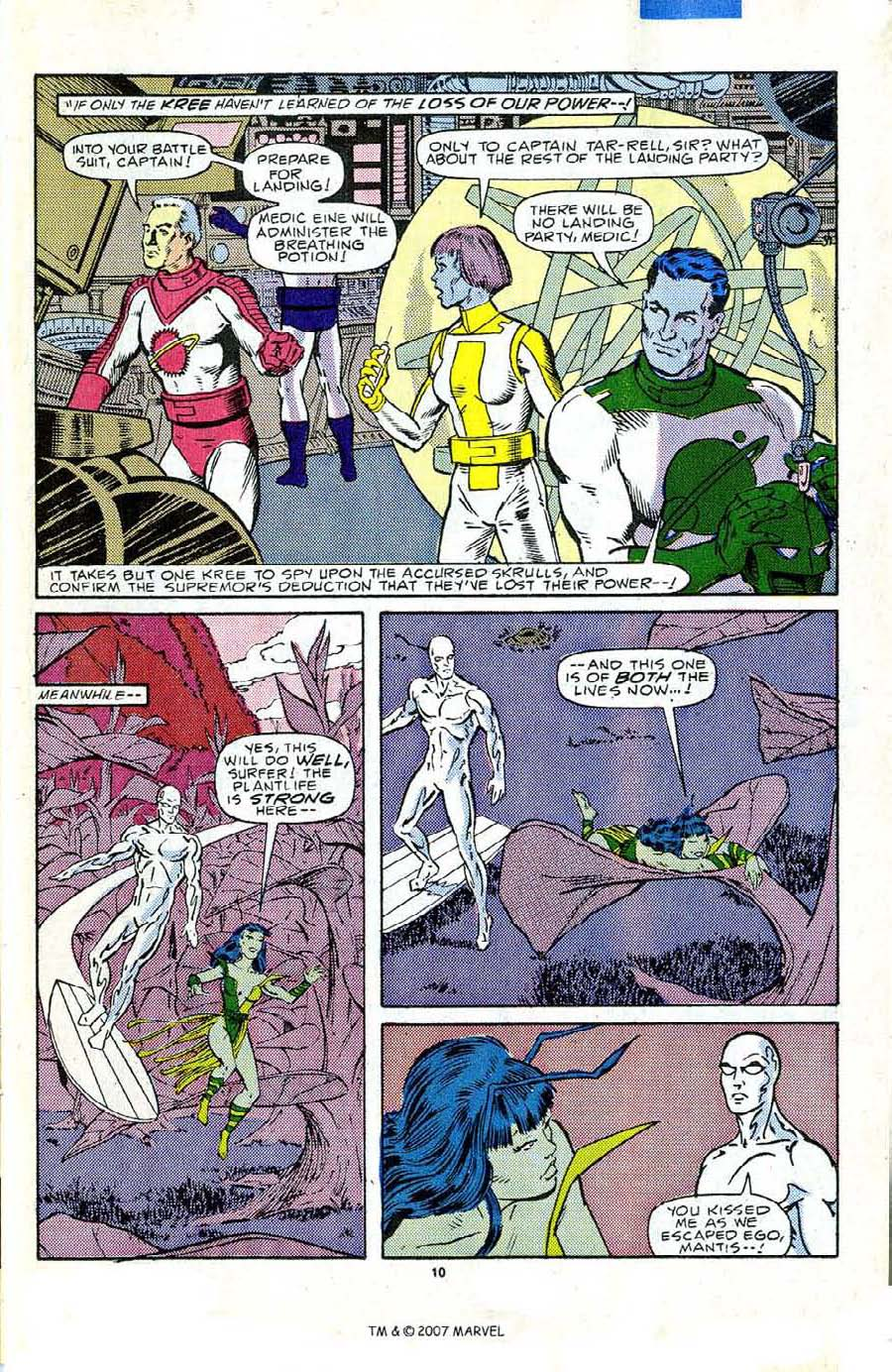 Read online Silver Surfer (1987) comic -  Issue #5 - 15