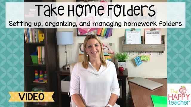 Setting up, organizing, and managing Take Home Folders Video