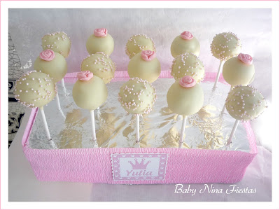 cakepops rosas