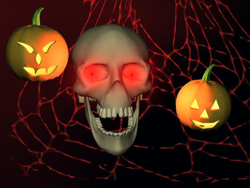3d Halloween Screensavers 3d Cake Image
