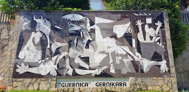 Spain's great artwork, Picasso's Gernika (Guernica)*