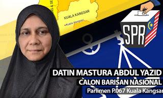 Calon BN PRK Kuala Kangsar Dikenali Ramai Walau Bukan Anak Tempatan