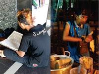 Tak Disangka, Ternyata Remaja Berambut Pirang Penjual Pentol itu Hafal 25 Juz Al-Qur'an