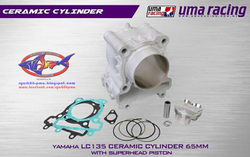 UMA Racing 65mm Forged Piston Yamaha LC135T135Y15ZR
