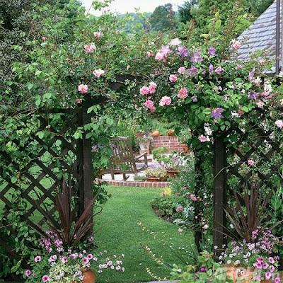 Một vài ý tưởng thiết kế sân vườn 1