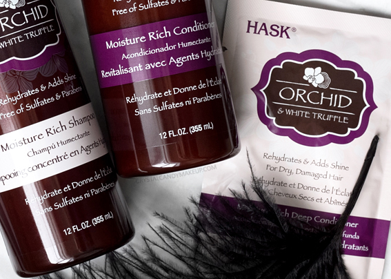 Hask Orchid & White Truffle Hair Shampoo Conditioner Review