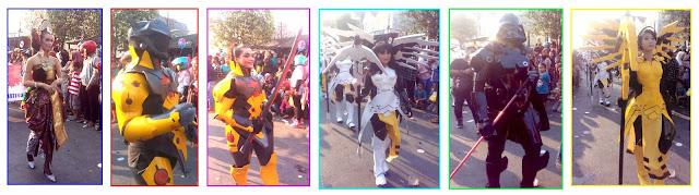 Superhero Ini Ikut Ramaikan Karnaval Jatirogo