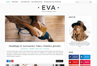 Eva Fashion Blogger Template