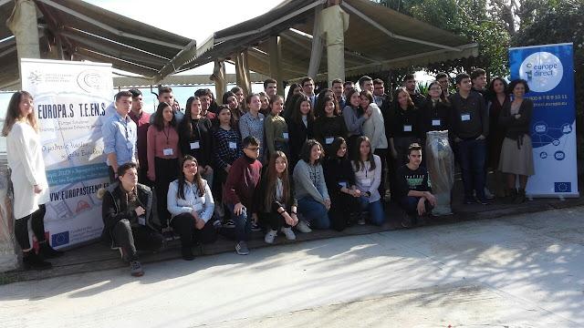 """Το 1ο Γυμνάσιο Ναυπλίου συμμετείχε στην """"Προσομοίωση του Ευρωπαϊκού Κοινοβουλίου"""""""
