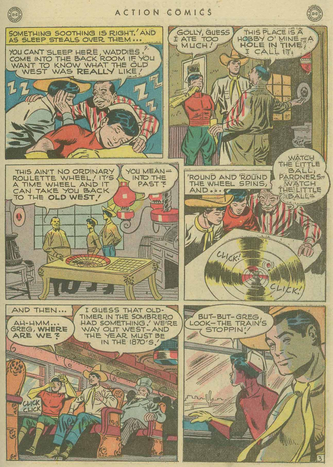 Read online Action Comics (1938) comic -  Issue #104 - 33