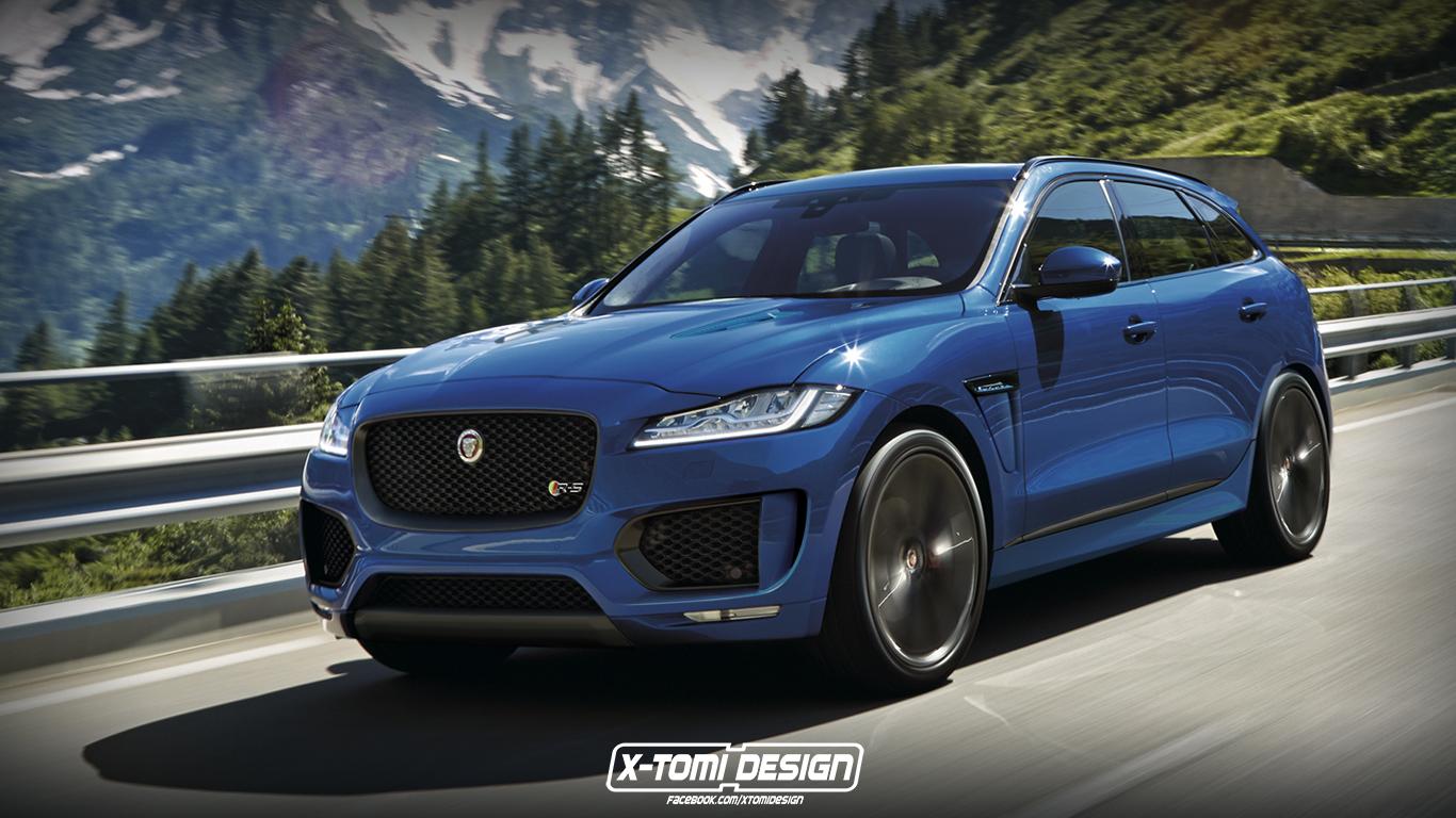 X-Tomi Design: Jaguar F-Pace R-S