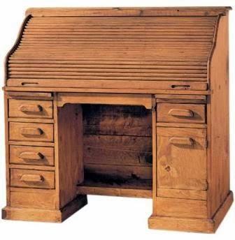 escritorio, bureau, mueble secreter