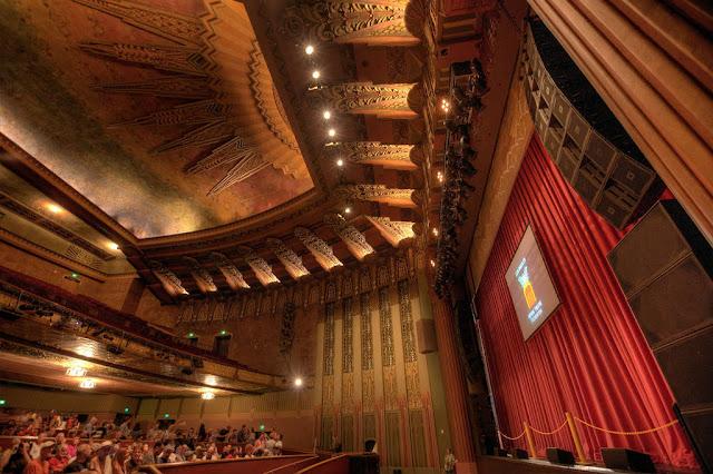 Los Angeles Theatres Wiltern Theatre Auditorium - Front of house theatre