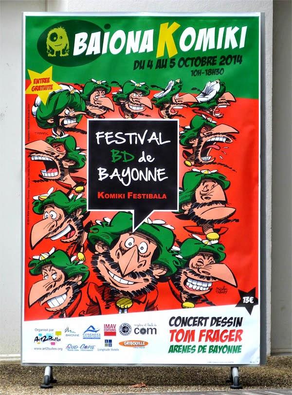 Baionakomiki, les bulles du Pays Basque