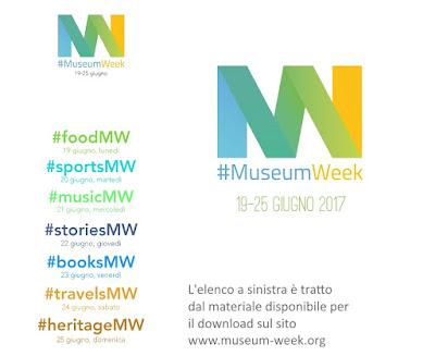 MuseumWeek dal 19 al 25 giugno 2017