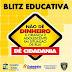 Prefeitura de Goianinha faz campanha contra doação de dinheiro para crianças e adolescentes em sinais de trânsito