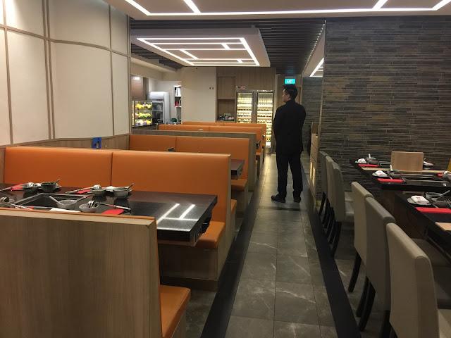 Singapore chinese restaurant ambience interior