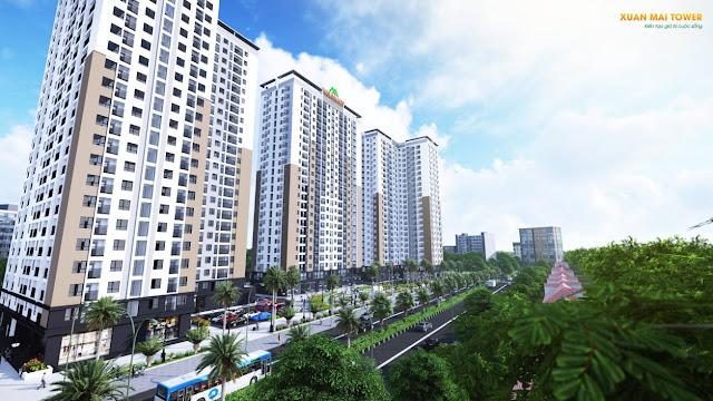 Toàn cảnh dự án Xuân Mai Thanh Hóa