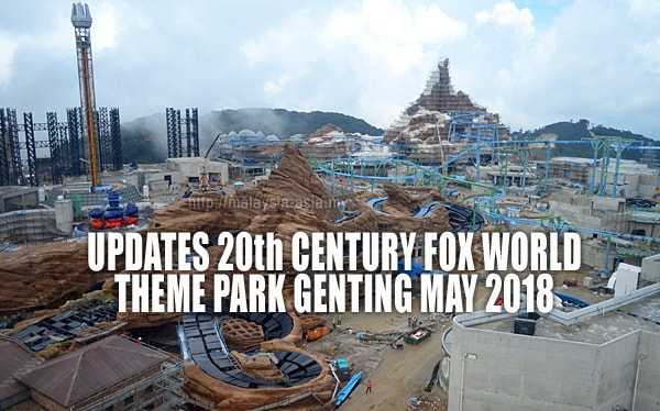 May 2018 Updates for 20th Century Fox World Theme Park