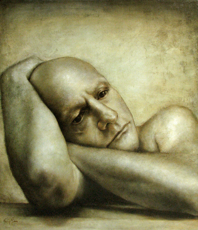 Barry Gross 1948 | American Surrealist painter