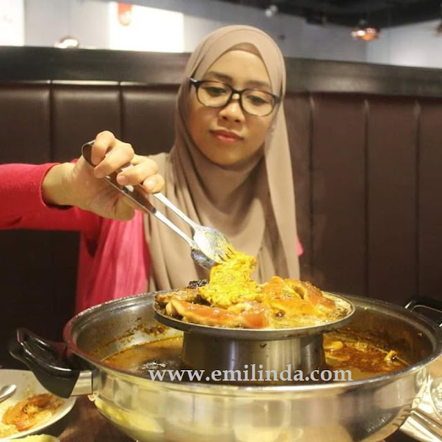 Makan Tengahari di Pak John Steamboat & BBQ, IOI City Mall