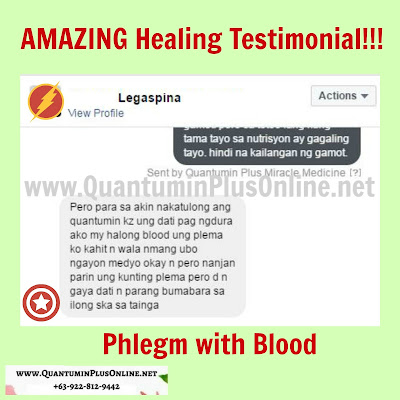 Phlegm with Blood Healing: Quantumin Plus_MinraminQ