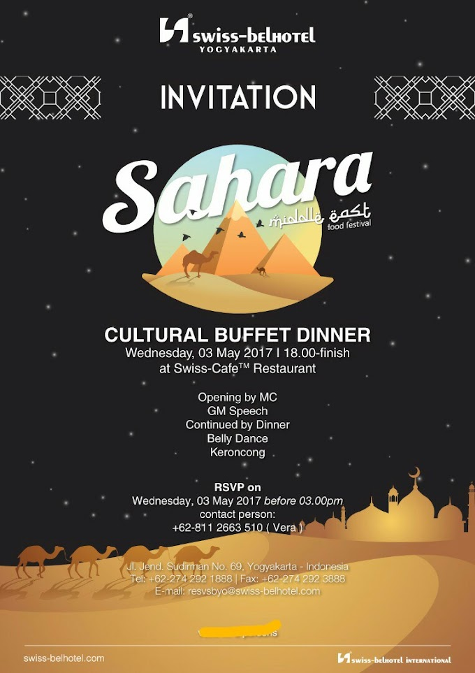 Review Cultural Food Festival: Sahara Middle East, Ada Belly Dance nya!