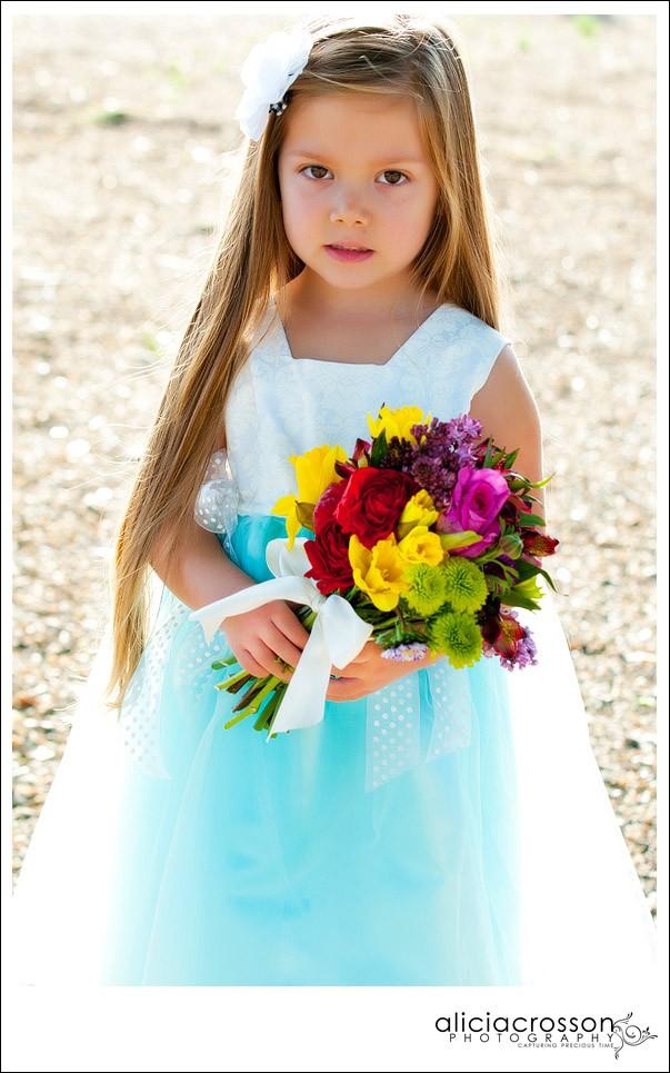 Tiffany blue wedding flower girl dress apologise, but