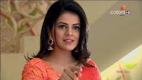 Jigyasa Singh from Thapki Pyaar Ki in Orange Transparent Saree (5).jpg