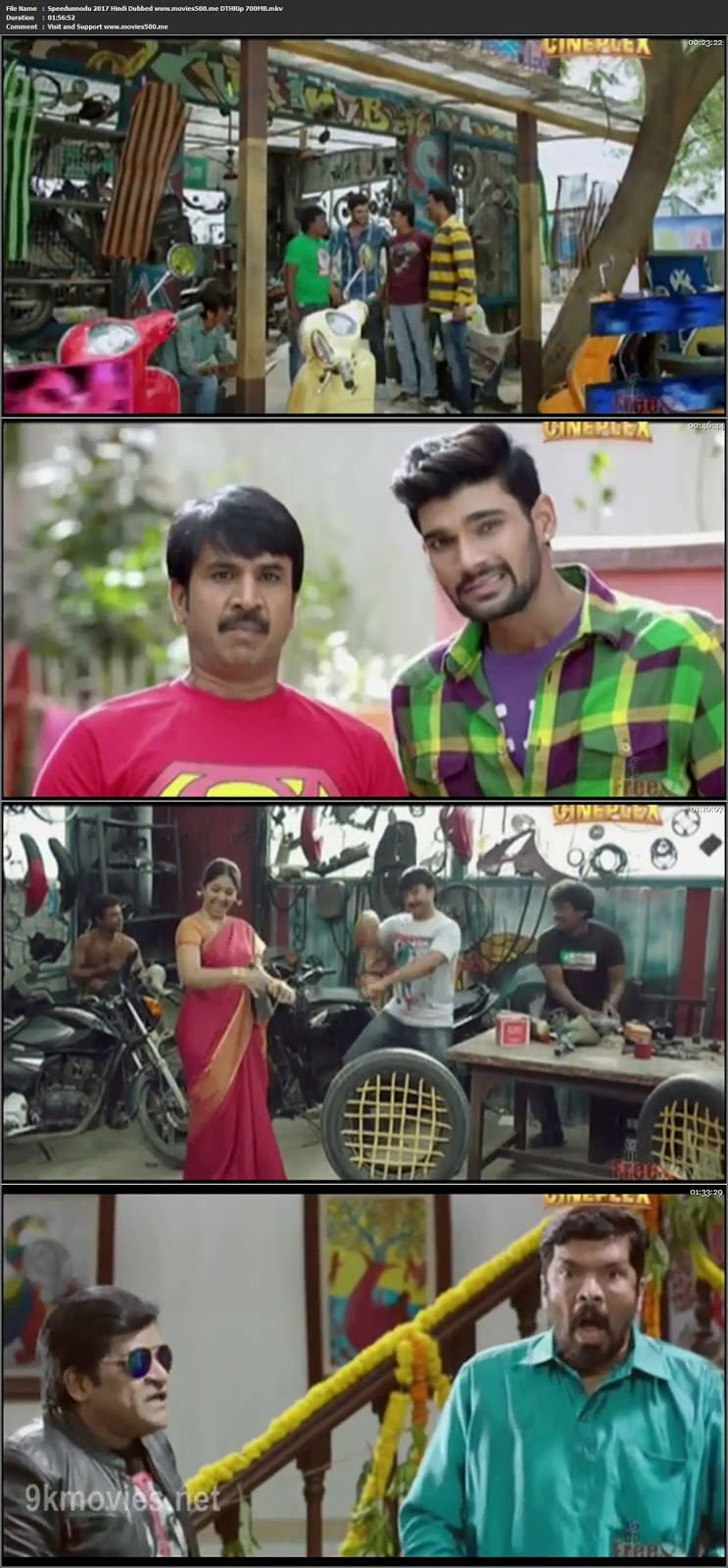Speedunnodu 2017 Hindi Dubbed Full Movie DTHRip 720p at movies500.site at movies500.site