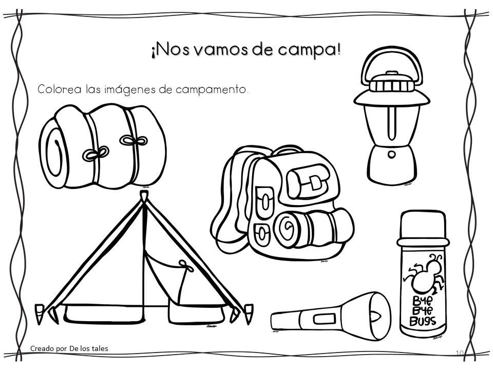 De los tales: Campamentos