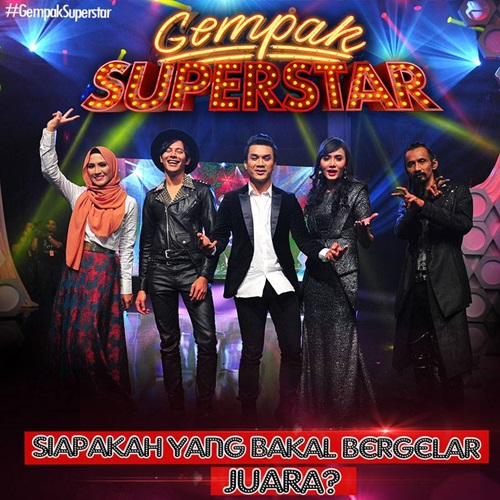 konsert gempak superstar akhir, senarai lagu peserta gempak superstar akhir, gambar konsert gempak superstar final