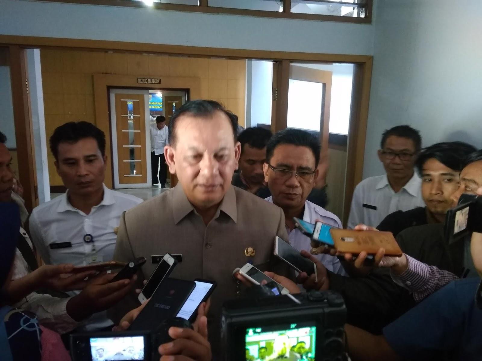 Sekda Provinsi Jambi Membuka Secara Resmi Pramusrembang Perencanaan Pembangunan RKPD Se-Provinsi Jambi.