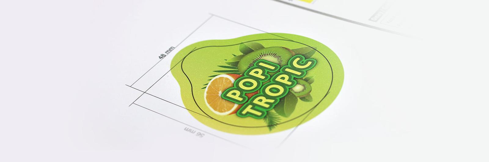 Thiết kế bao bì sản phẩm Popi Tropic