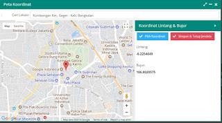 Jendela Google Maps