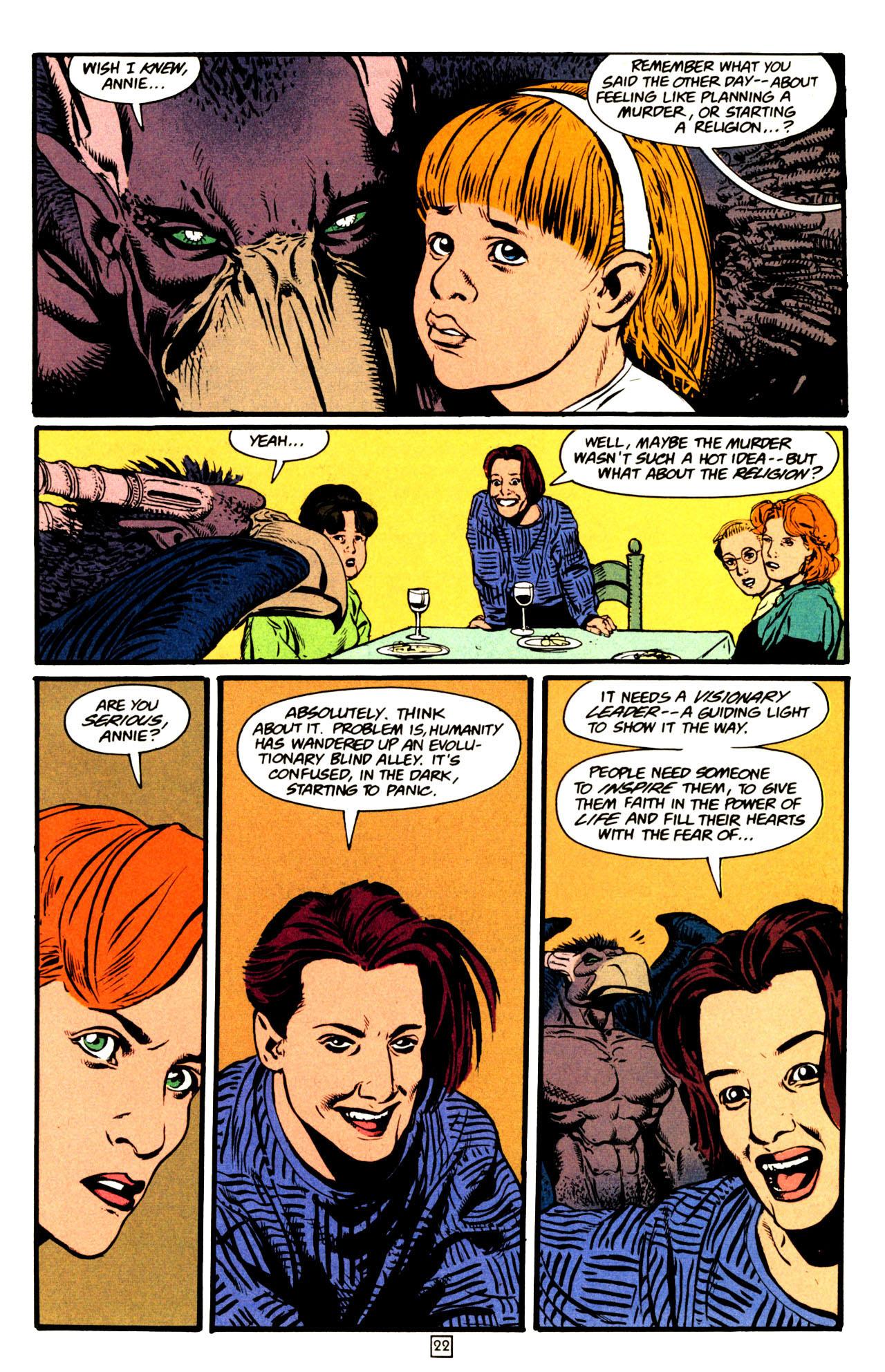 Read online Animal Man (1988) comic -  Issue #72 - 23